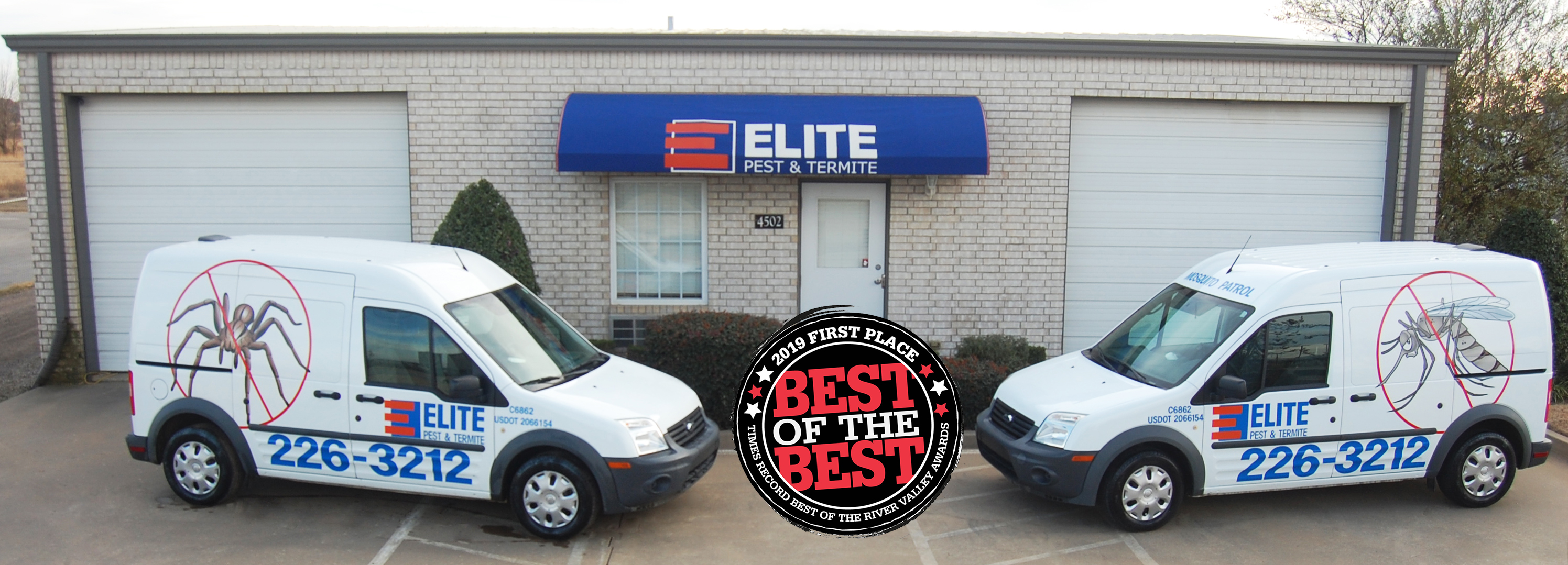 Elite Pest and Termite Fort Smith Arkansas River Valley Best of the Best 2019 Southwest Times Record